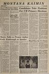 Montana Kaimin, April 26, 1966