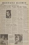 Montana Kaimin, May 3, 1966