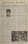 Montana Kaimin, May 13, 1966