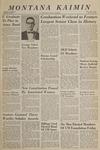 Montana Kaimin, June 1, 1966