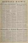 Montana Kaimin, June 3, 1966