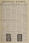Montana Kaimin, September 29, 1966