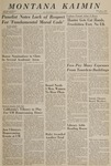 Montana Kaimin, October 5, 1966