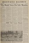 Montana Kaimin, October 7, 1966