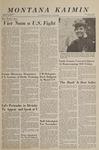 Montana Kaimin, October 11, 1966