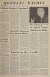 Montana Kaimin, October 13, 1966