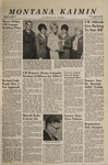 Montana Kaimin, October 14, 1966
