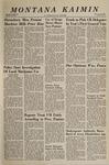 Montana Kaimin, October 25, 1966
