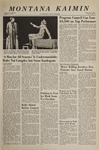 Montana Kaimin, November 2, 1966