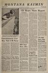 Montana Kaimin, November 3, 1966