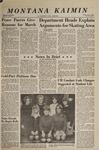 Montana Kaimin, November 4, 1966