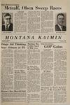 Montana Kaimin, November 9, 1966