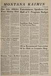 Montana Kaimin, November 10, 1966