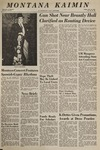 Montana Kaimin, November 18, 1966