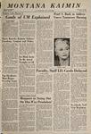 Montana Kaimin, November 30, 1966