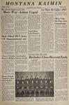 Montana Kaimin, December 7, 1966