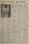 Montana Kaimin, December 8, 1966