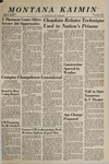 Montana Kaimin, January 11, 1967
