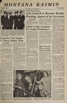 Montana Kaimin, January 20, 1967