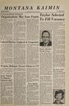 Montana Kaimin, March 7, 1967
