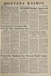 Montana Kaimin, March 9, 1967