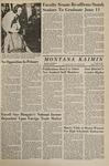 Montana Kaimin, April 7, 1967