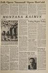 Montana Kaimin, April 14, 1967