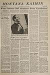 Montana Kaimin, April 19, 1967