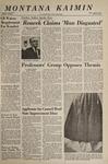 Montana Kaimin, April 20, 1967