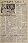 Montana Kaimin, April 25, 1967
