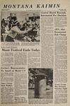 Montana Kaimin, May 4, 1967