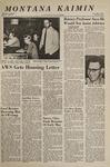 Montana Kaimin, May 9, 1967
