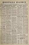 Montana Kaimin, June 1, 1967