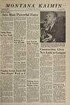 Montana Kaimin, September 29, 1967