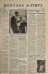 Montana Kaimin, October 11, 1967