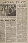 Montana Kaimin, October 31, 1967