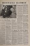 Montana Kaimin, November 1, 1967