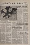 Montana Kaimin, November 8, 1967