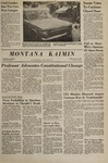 Montana Kaimin, November 17, 1967
