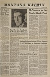 Montana Kaimin, November 28, 1967