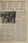 Montana Kaimin, December 1, 1967
