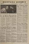 Montana Kaimin, December 7, 1967