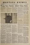 Montana Kaimin, January 9, 1968