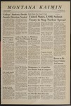 Montana Kaimin, January 19, 1968