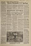 Montana Kaimin, January 26, 1968