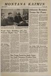 Montana Kaimin, February 13, 1968