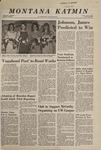 Montana Kaimin, February 20, 1968