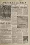 Montana Kaimin, February 21, 1968