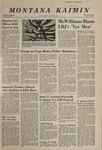 Montana Kaimin, February 27, 1968
