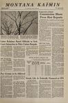 Montana Kaimin, March 1, 1968